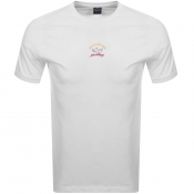 Paul And Shark Logo T Shirt White