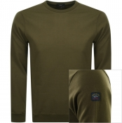 Product Image for Paul And Shark Crew Neck Sweatshirt Green