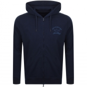 Product Image for Paul And Shark Full Zip Logo Hoodie Navy