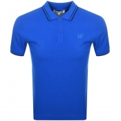 Product Image for MCQ Alexander McQueen Tipped Polo T Shirt Blue