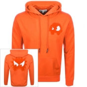 Product Image for MCQ Alexander McQueen Logo Hoodie Orange