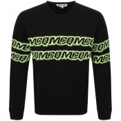Product Image for MCQ Alexander McQueen Logo Sweatshirt Black