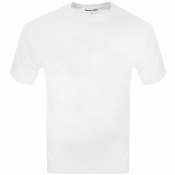 Product Image for MCQ Alexander McQueen Crew T Shirt White