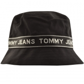 Product Image for Tommy Jeans Tape Bucket Hat Black