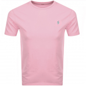 Product Image for Ralph Lauren Crew Neck T Shirt Pink