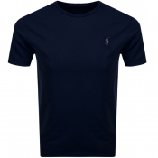 Ralph Lauren Crew Neck T Shirt Navy