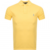 Product Image for Ralph Lauren Slim Fit Polo T Shirt Yellow