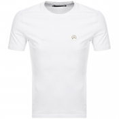 Product Image for Love Moschino Peace Logo T Shirt White