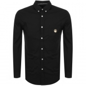 Love Moschino Long Sleeved Shirt Black