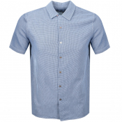 Product Image for PS By Paul Smith Short Sleeved Casual Shirt Navy