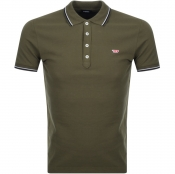 Product Image for Diesel T Randy Polo T Shirt Green