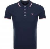 Diesel T Randy Polo T Shirt Navy