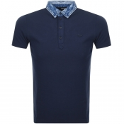 Product Image for Diesel T Miles Polo T Shirt Navy