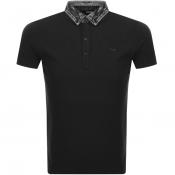 Diesel T Miles Polo T Shirt Black