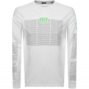 Product Image for Diesel Long Sleeved T Just Logo T Shirt White