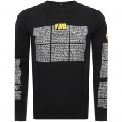 Diesel Long Sleeved T Just Logo T Shirt Black
