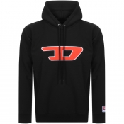 Product Image for Diesel Division D Logo Hoodie Black