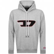 Product Image for Diesel Division D Logo Hoodie Grey