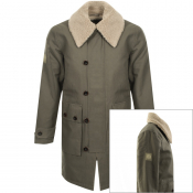 Product Image for Pretty Green Cranston Swedish Parka Jacket Khaki