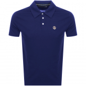 Product Image for Love Moschino Short Sleeved Polo T Shirt Blue