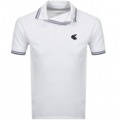 Product Image for Vivienne Westwood Squiggle Logo Polo T Shirt White