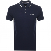 Product Image for Ted Baker Bloko Polo T Shirt Navy