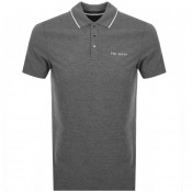 Product Image for Ted Baker Bloko Polo T Shirt Grey