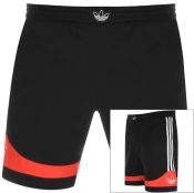 adidas Originals Three Stripe Shorts Black