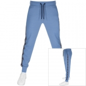 Tommy Hilfiger Logo Jogging Bottoms Blue