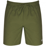 Fred Perry Textured Swim Shorts Green