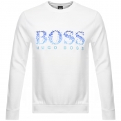 BOSS Athleisure Salbo Iconic Sweatshirt White