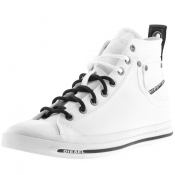 Diesel Magnete Exposure Trainers White