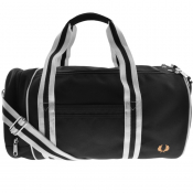Product Image for Fred Perry Twin Tipped Barrel Bag Black