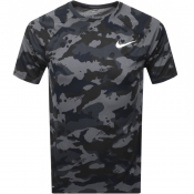 Product Image for Nike Training Swoosh Camouflage T Shirt Grey