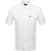 Product Image for Fred Perry Short Sleeved Oxford Shirt White