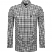 Product Image for Fred Perry Gingham Check Shirt Black