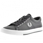 Fred Perry Underspin Leather Trainers Navy