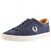 Product Image for Fred Perry Underspin Suede Trainers Navy