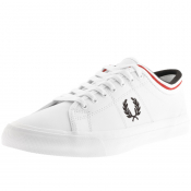 Product Image for Fred Perry Kendrick Leather Trainers White