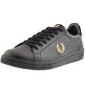 Product Image for Fred Perry B721 Leather Trainers Black