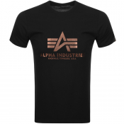 Alpha Industries Basic Logo T Shirt Black