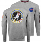 Product Image for Alpha Industries Space Shuttle Sweatshirt Grey