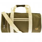 Product Image for Fred Perry Twin Tipped Barrel Bag Khaki