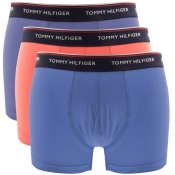 Tommy Hilfiger Underwear 3 Pack Trunks Blue