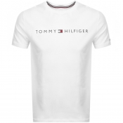 Tommy Hilfiger Lounge Logo T Shirt White