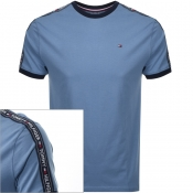 Tommy Hilfiger Lounge Round Neck T Shirt Blue