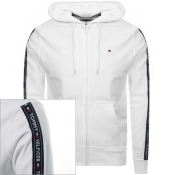 Product Image for Tommy Hilfiger Icon Logo Zip Hoodie White