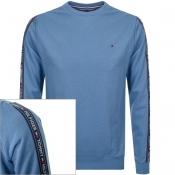 Tommy Hilfiger Lounge Taped Sweatshirt Blue