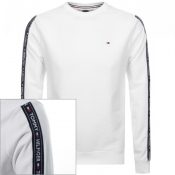 Product Image for Tommy Hilfiger Taped Sweatshirt White