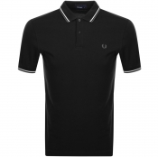 Product Image for Fred Perry Twin Tipped Polo T Shirt Black
